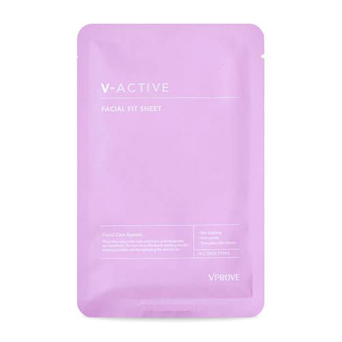 Подтягивающая маска для лица Vprove V-Active Facial Fit Sheet питающий тонер для укрепления кожи лица vprove v active toner