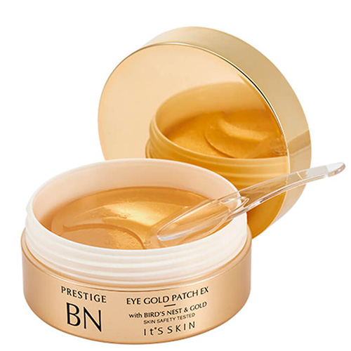 Антивзрастные патчи с золотом для век It's Skin Prestige BN Gold Eye Patch EX маска berrisom g9 skin honey eye patch 60 шт