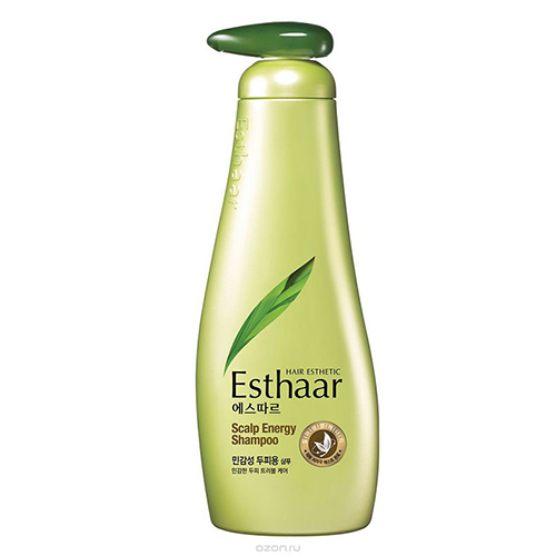 Шампунь для чувствительной кожи головы Kerasys Esthaar Scalp Energy Shampoo 500ml kerasys шампунь освежающий для лечения кожи головы scalp care 400 г