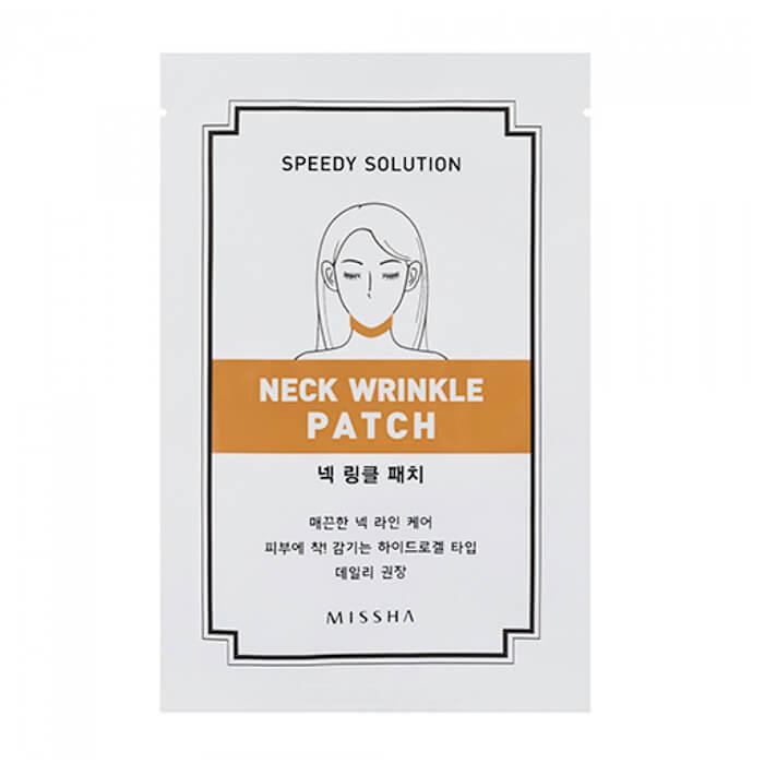 Моделирующий патч для разглаживания и укрепления кожи шеи Missha Speedy Solution Neck Wrinkle Patch футболка wearcraft premium slim fit printio fcsm фк спартак москва