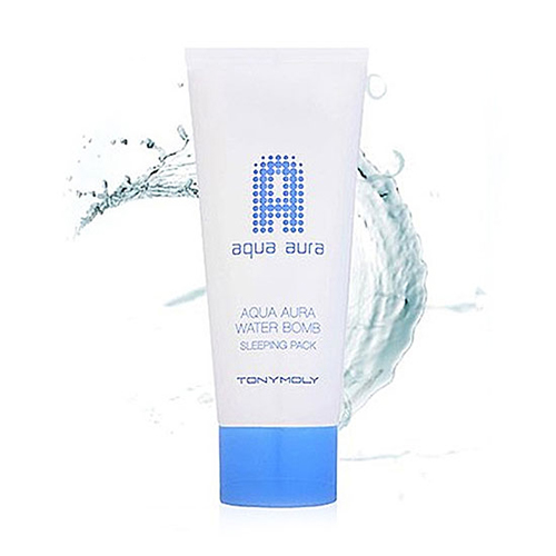 Увлажняющая ночная маска для лица Tony Moly Aqua Aura Water Bomb Sleeping Pack кисть tony moly professional all about brush 1 шт
