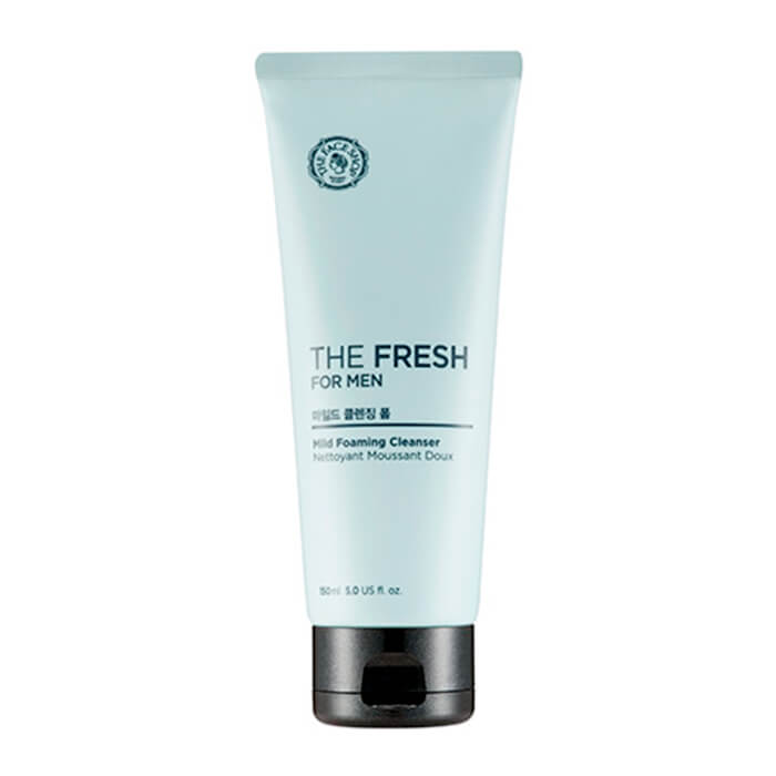 Мужская деликатная пенка для умывания лица The Face Shop The Fresh For Men Mild Foaming Cleanser пенка llang red ginseng fresh lady cleanser 200 мл page 3