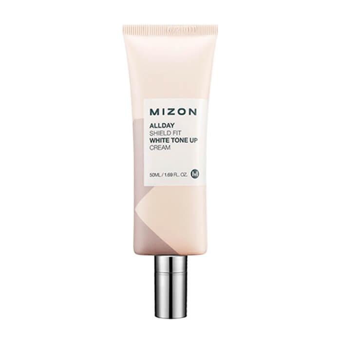 Дневной защитный крем для лица с осветляющим эффектом Mizon Allday Shield Fit White Tone Up Cream крем mizon nonstop waterful cream объем 50 мл