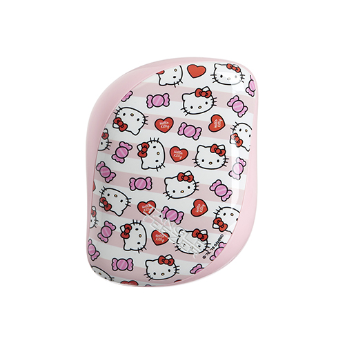 Расческа для волос с Hello Kitty Tangle Teezer Tangle Teezer Compact Styler Hello Kitty Candy Stripes compact