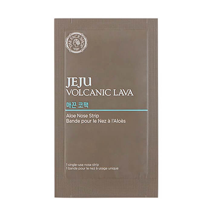 The Face Shop Jeju Volcanic Lava Aloe Nose Strips the yeon jeju canola медовый крем для рук 50мл