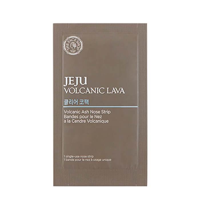 Пластырь для носа The Face Shop Jeju Volcanic Lava  Ash Nose Strips