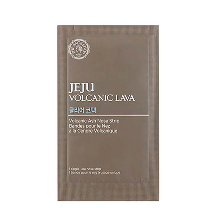 Очищающий пластырь для носа The Face Shop Jeju Volcanic Lava Pore Clear Nose Strip