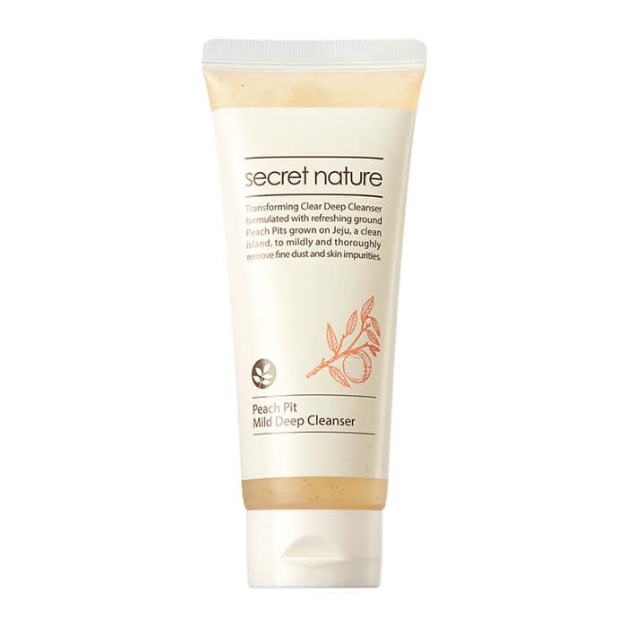Пенка для очищения лица с экстрактом персиковых косточек Secret Nature Peach Pit Mild Deep Cleanser