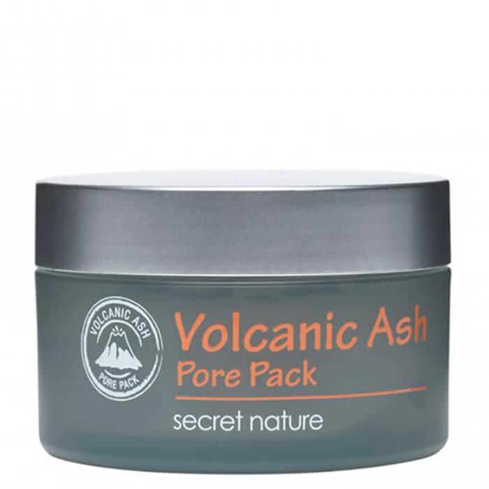 Очищающая маска для лица  вулканическим пеплом Secret Nature Volcanic Ash Pore Pack
