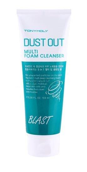 очищающая пенка Tony Moly Dust Out Multi Foam Cleanser