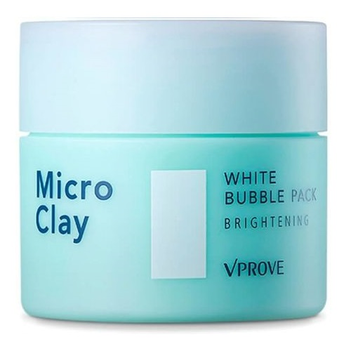 Осветляющая маска для лица Vprove Micro Clay White Bubble Pack Brightening серьги diva diva di006dwbcdy4