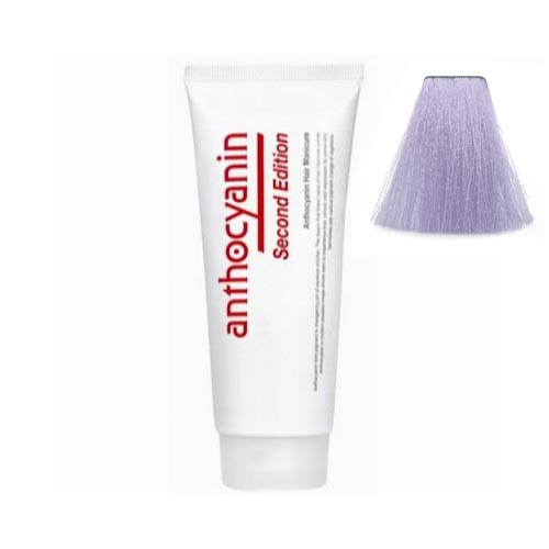 Краска для волос с эффектом биоламинирования Anthocyanin Anthocyanin V14 Aqua Purple 230g