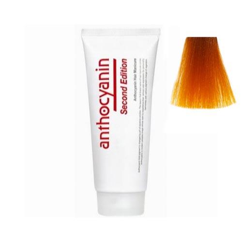 Краска для волос с эффектом биоламинирования Anthocyanin Anthocyanin O02 Orange 110g anthocyanin anthocyanin b04 sky blue 110g