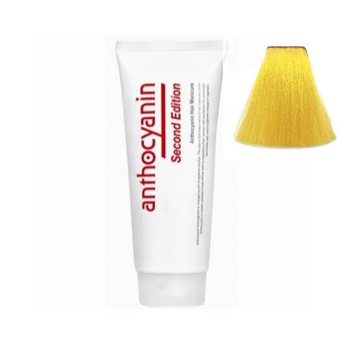 Краска для волос с эффектом биоламинирования Anthocyanin Anthocyanin Y01 Pure Yellow 110g anthocyanin anthocyanin b04 sky blue 110g