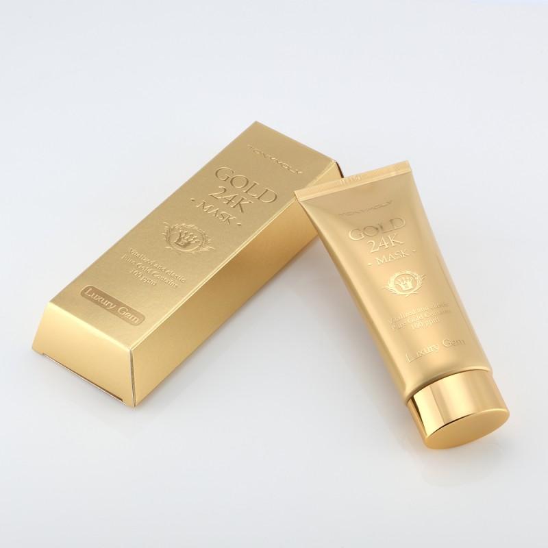 Маска с золотом, улиткой и икрой Tony Moly Luxury Gem gold 24K Mask маска tony moly luxury jam gold 24k mask