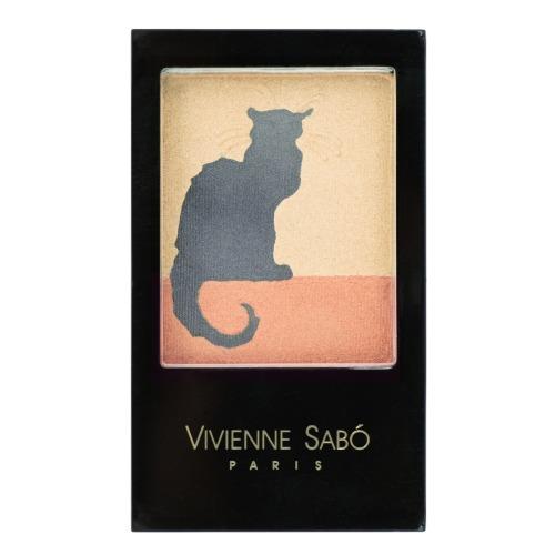 Тройные тени для век Vivienne Sabo Ombre a Paupieres Trio Chat Noir обручи тройные на привязку
