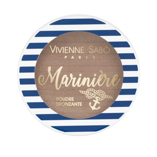 Бронзатор для лица Vivienne Sabo Poudre Bronzante Mariniere vivienne sabo палетка для скульптурирования лица mariniere 02