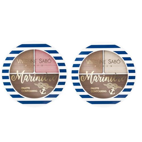 Палетка для макияжа Vivienne Sabo Palette Contouring Pour Le Visage Mariniere vivienne sabo палетка для скульптурирования лица mariniere 02