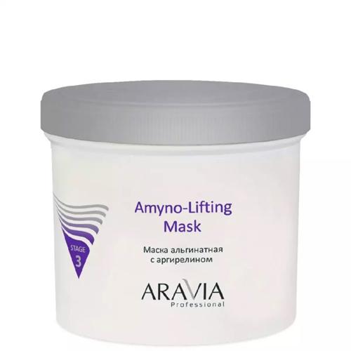 Альгинитная маска для увлажнения и оказания лифтингового эффекта Aravia Professional Aravia Professional Amyno-Lifting aravia professional amyno lifting маска альгинатная с аргирелином 550 мл