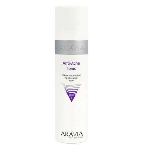 Тоник с салициловой кислотой для очищения и снятия воспаления кожи Aravia Professional