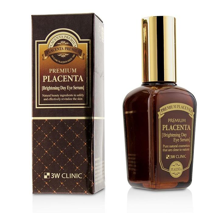 Сыворотка для глаз с экстрактом плаценты 3W Clinic Premium Placenta Brightening Day Eye Serum sana eye zone serum сыворотка для ухода за веками и ресницами