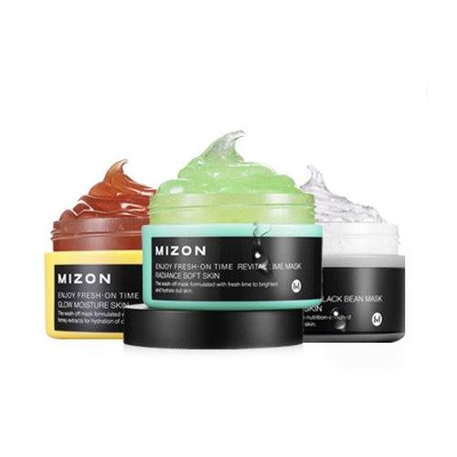 Серия масок для лица Mizon Enjoy Fresh On-Time Mask крем для рук mizon enjoy fresh on time sweet honey hand cream объем 50 мл