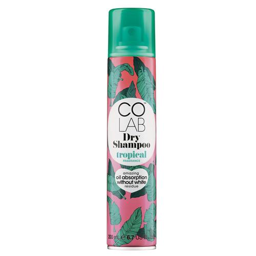 Прозрачный сухой шампунь Тропический Colab Colab Fragrance Dry Shampoo Tropical tied back ruffle hem tropical cami dress