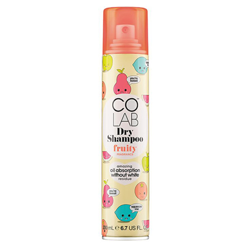 Прозрачный сухой шампунь Фруктовый Colab  Fragrance Dry Shampoo Fruity