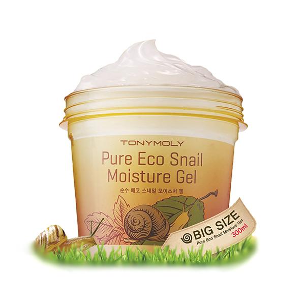 Многофункциональный улиточный гель Tony Moly Pure Eco Snail Moisture Gel