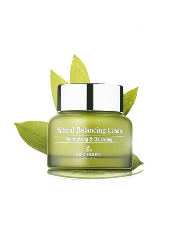 Крем для жирной кожи The Skin House Natural Balancing Cream тональный крем the saem porcelain skin bb cream spf30 ра 02