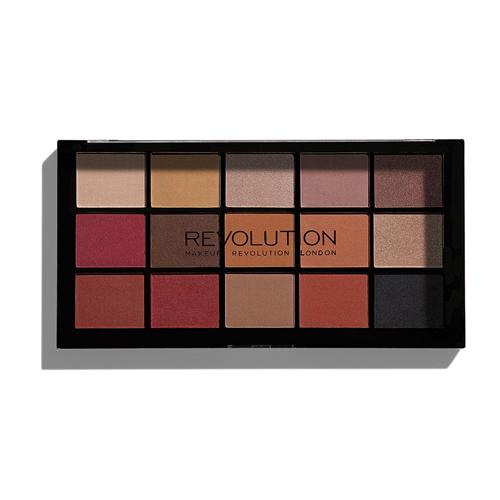 Палетка теней естественных теплых и холодных оттенков MakeUp Revolution Re Loaded Palette Iconic Vitality цена