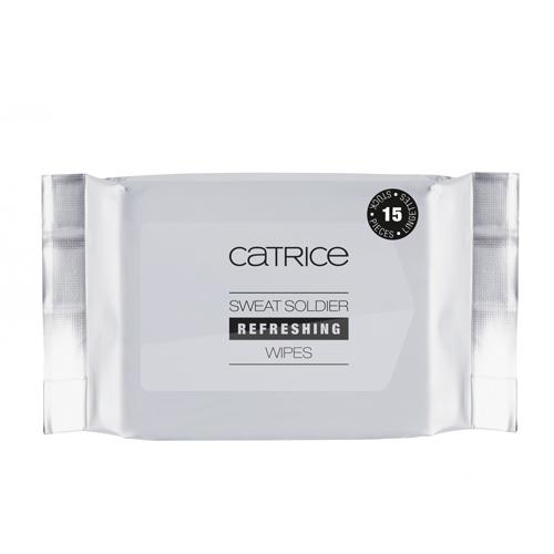 Освежающие влажные салфетки-антиперспирант Catrice Active Warrior Sweat Soldier Refreshing Wipes