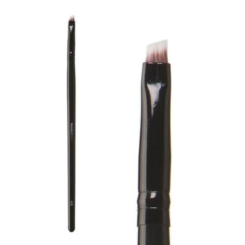 Кисть плоская скошенная для деталей прорисовки бровей Manly PRO Manly Pro Кисть плоская скошенная для деталей прорисовки бровей К48 карандаш для бровей manly pro гелевый карандаш sable цвет b104 sable variant hex name 563528