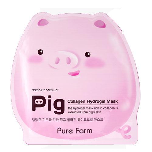 Гидрогелевая коллагеновая маска Tony Moly Pure Farm Pig Collagen Mask