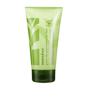 пенка для умывания Innisfree Green Tea Pure Cleansing Foam