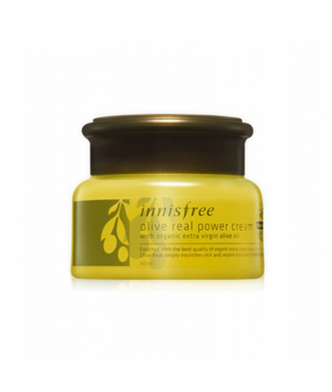 Крем с маслом оливы Innisfree Olive Real Power Cream