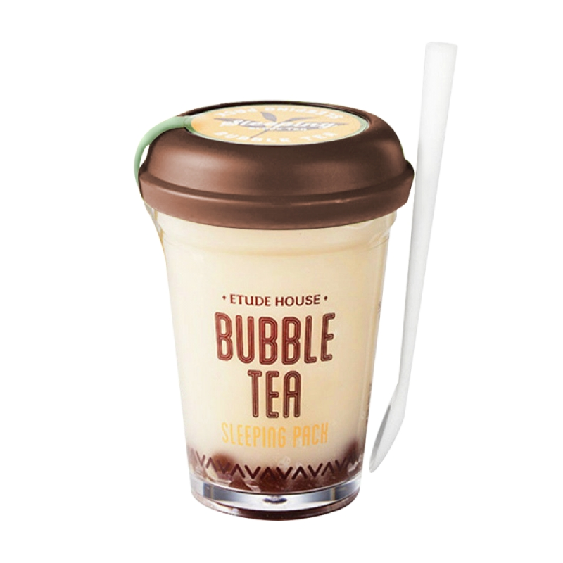 Ночная маска с экстрактом черного чая Etude House Bubble Tea Sleeping Pack Black Tea ae81 free shipping 250g premium real chinese tea famous black tea brand jingjinmei kongfu black tea