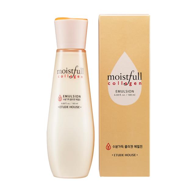 Освежающая эмульсия с легкой текстурой Etude House Moistfull Collagen Emulsion etude house collagen moistfull mask sheet 5sheets korean beauty [imported]
