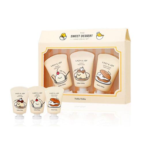 Набор кремов для рук Holika Holika Gudetama Dessert Hand Cream 3 Set