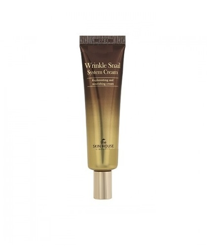 Комплексный улиточный крем The Skin House Wrinkle Snail System Cream (Tube) 30ml bei skin beauty 30ml