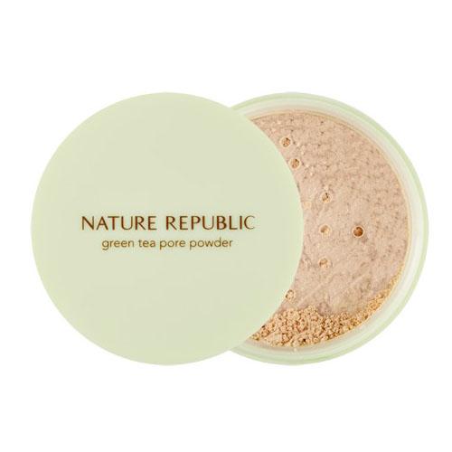 Рассыпчатая матирующая пудра Nature Republic Botanical Green Tea Pore Powder 1000g matcha green tea powder 100