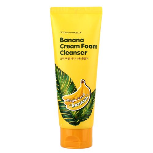 крем-пенка Tony Moly Magic Food Banana Cream Foam Cleanser