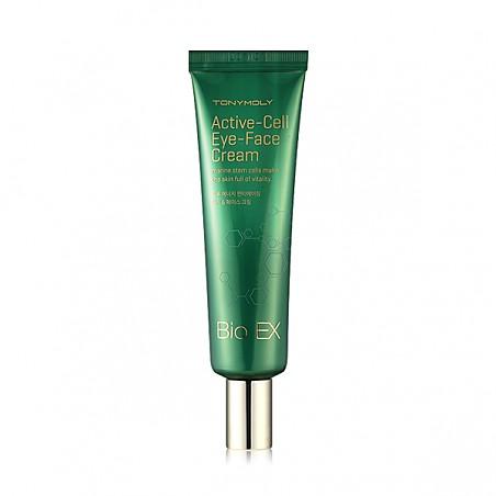 Антивозрастной крем для кожи лица и глаз Tony Moly Bio EX Active Cell Eye-Face Cream