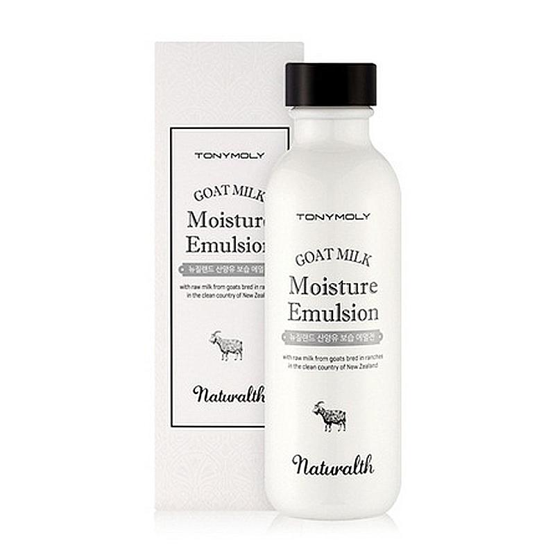 увлажняющая эмульсия Tony Moly Naturalth Goat Milk Moisture Emulsion