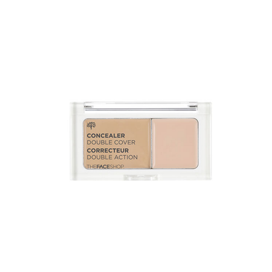 Двойной консилер The Face Shop Face Shop Concealer Double Cover корректоры the saem cover perfection concealer foundation spf50 pa 1 5