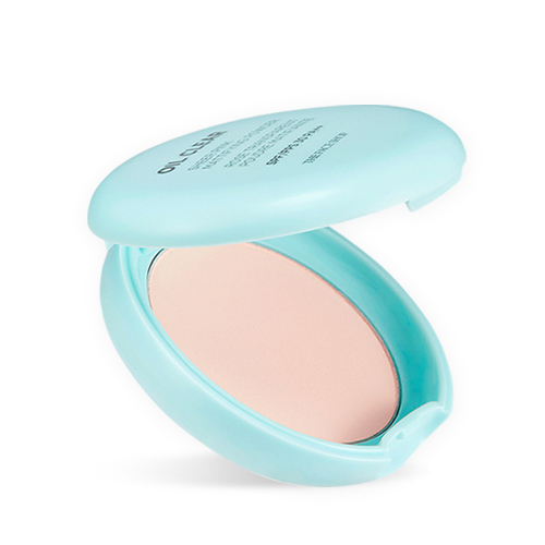Матирующая компактная пудра The Face Shop Oil Clear Sheer Pink Mattifying Powder