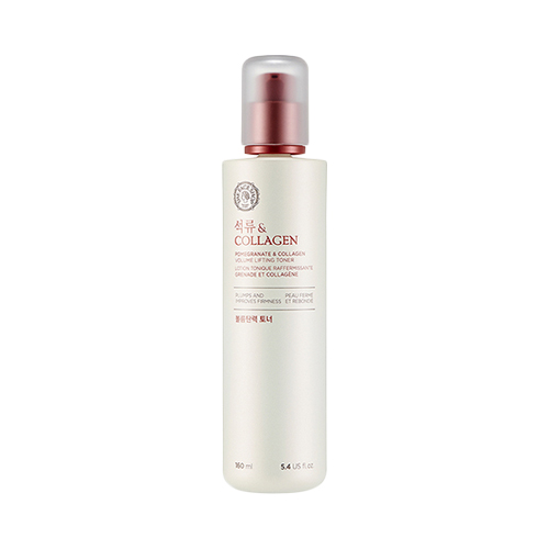 The Face Shop Pomegranate And Collagen Volume Lifting Toner