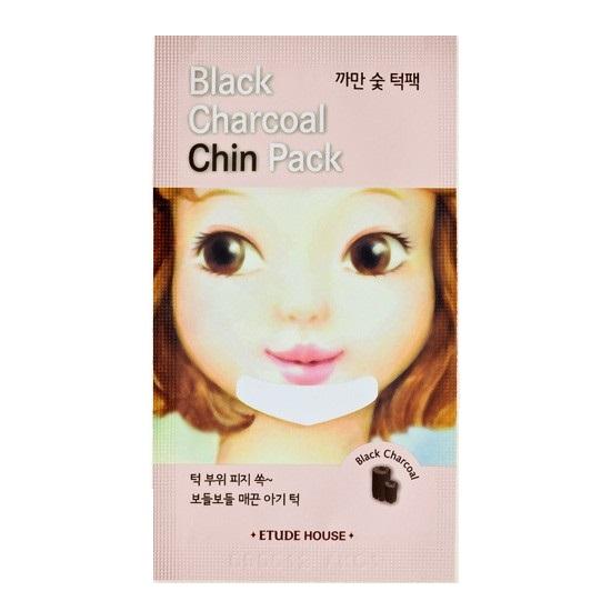 Очищающий патч для подбородка Etude House Black Charcoal Chin Pack маска etude house greentea nose pack 1 упаковка