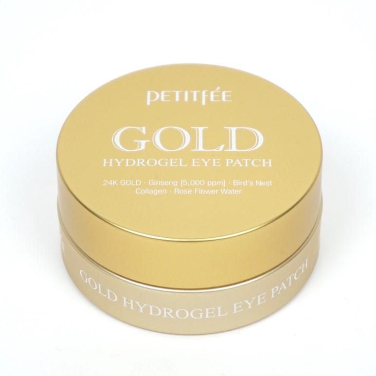 Высококонцентрированные патчи с золотом Petitfee Petitfee Gold Hydrogel Eye Patch гидрогелевые патчи под глаза с золотом iyoub hydrogel eye patch gold