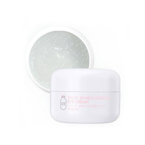 Осветляющий крем с молочными протеинами для глаз Berrisom G9 White In Milk Capsule Eye Cream маска berrisom g9 skin honey eye patch 60 шт